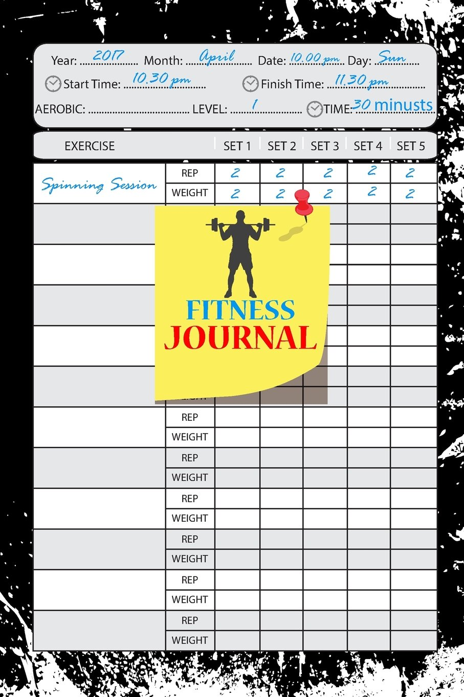 Fitness Journal:Workout Log:Personal Training Exercise Log ...
