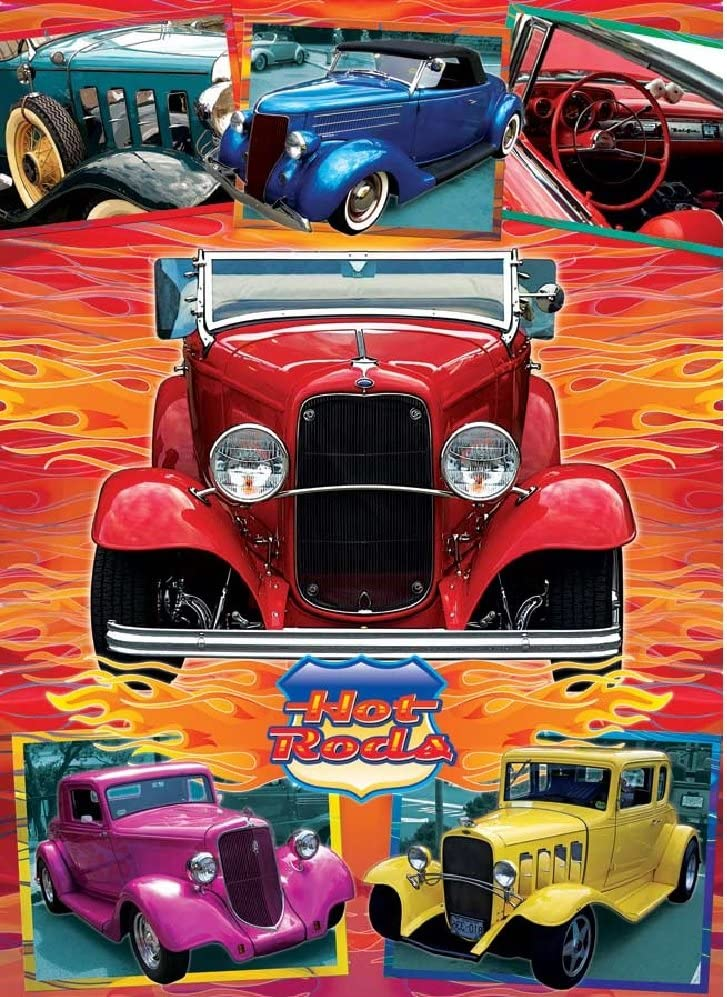 Cobble Hill Hot Rods 1000 Piece Jigsaw Puzzle