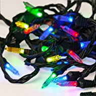 Light Rhapsody Alexa Voice Control Indoor Holiday String Lights, Mini, Works with Alexa