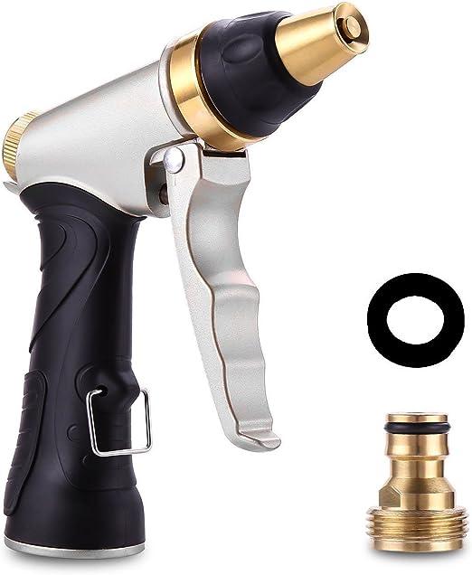 iNeego Pistola de Riego Metálico 100% Alta Presión Pistola ...