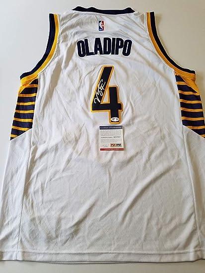 half off 3c313 e46aa Victor Oladipo Autographed Signed Memorabilia Jersey PSA/DNA ...