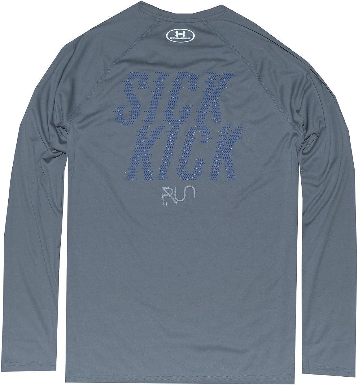 Under Armour Men UA Running Long Sleeve Fitted T-Shirt