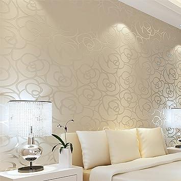 Europäische romantische pastorale Vlies Tapete/Schlafzimmer ...