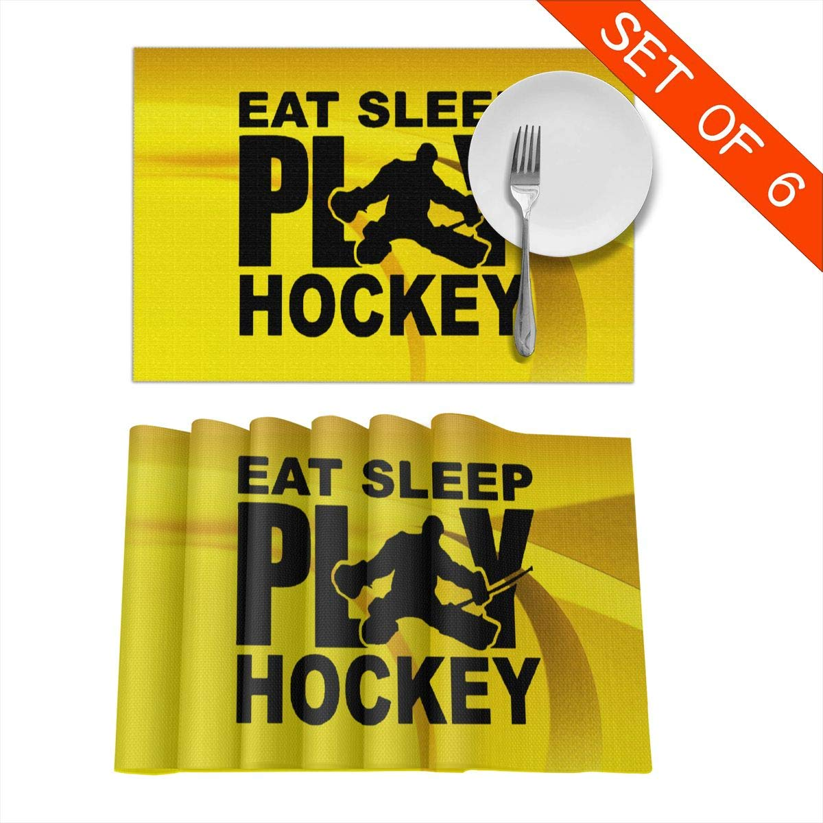 2 Pack Luggage Tags Eat Sleep HOCKEY Repeat Cruise Luggage Tag For Suitcase Bag Accessories