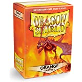 Arcane Tinmen Sleeves Dragon Shield JapaneseBox 60 Orange Matte Accessories