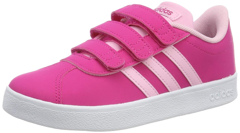 Amazon.com adidas VL Court 2.0 CMF , Girls , Real Magenta