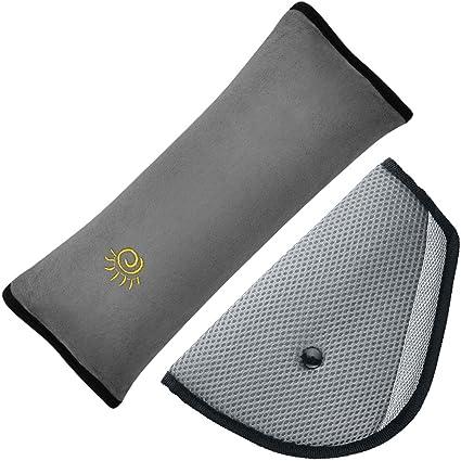 Cinturón de seguridad almohada con niños Ajustador del cinturón de seguridad, maxin ajustar las de los hombros del vehículo. Cinturón de seguridad ...