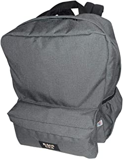 product image for backpack H2O single with two side pockets, one front pocket Made in USA. (Gray)