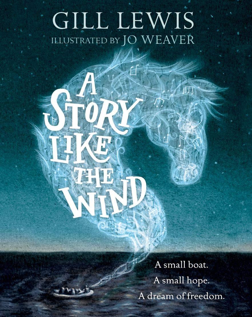 A Story Like the Wind: Amazon.co.uk: Lewis, Gill, Weaver, Jo:  9780192758958: Books