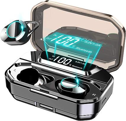 Domilay 5.0 Traduttore Vocale Istantaneo Cuffie TWS Display Un LED Auricolari 33 Lingue Bianco nel Tempo Reale per La Traduzione