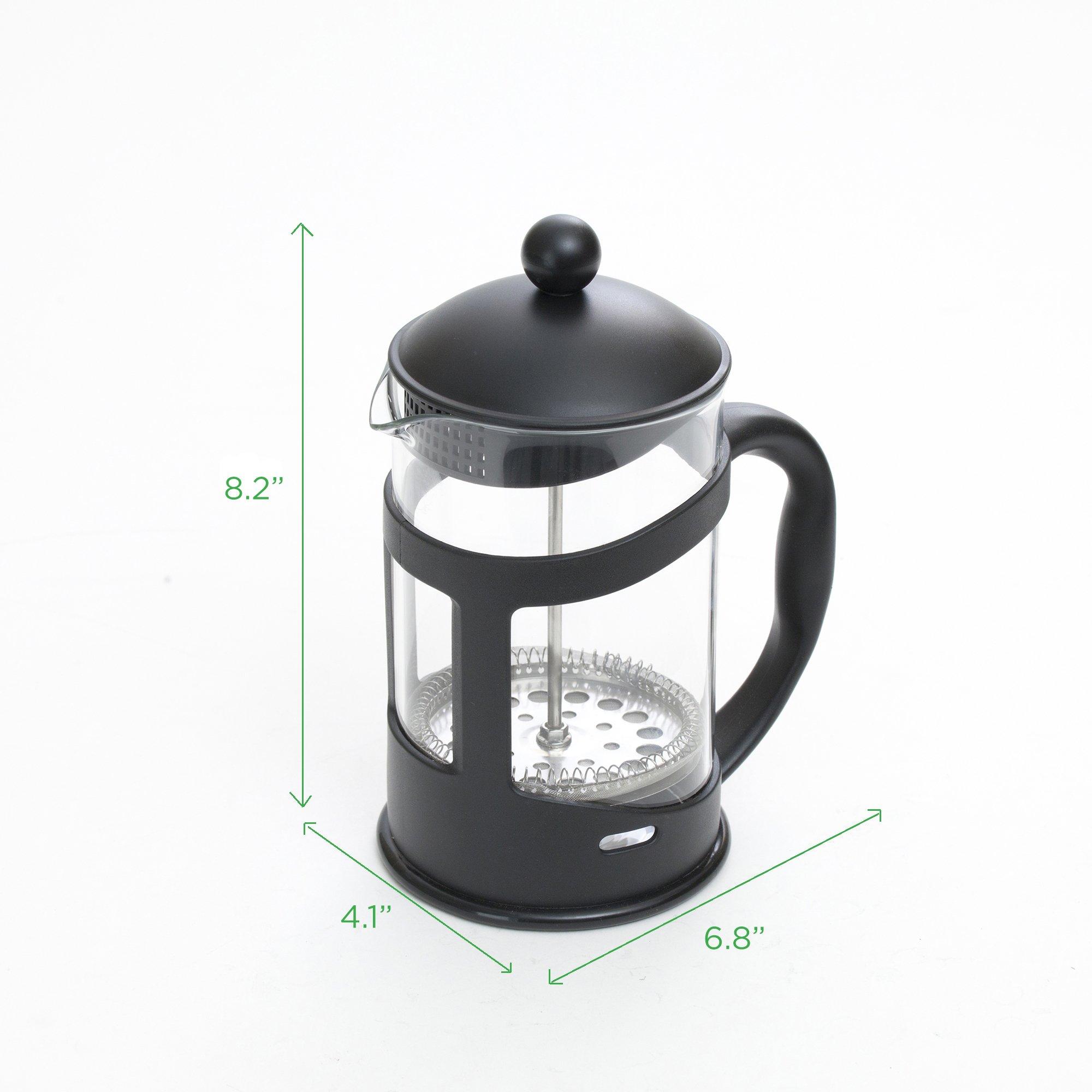 Mind Reader French Press Coffee & Tea Maker 27 oz, Glass by Mind Reader (Image #6)