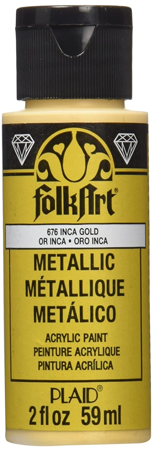 Folk Art Metallic Paint Royal Gold