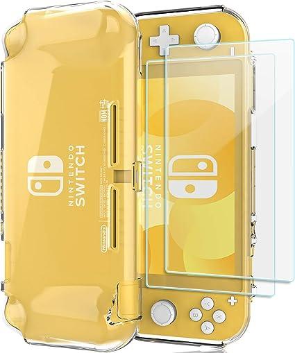 ProCase Funda Transparente y 2 Protectores Pantalla para Nintendo ...