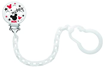 Amazon.com: Nuk Disney Pacifier Chain: Beauty