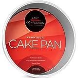 "Last Confection 9"" x 3"" Deep Round Aluminum Cake Pan - Professional Bakeware"
