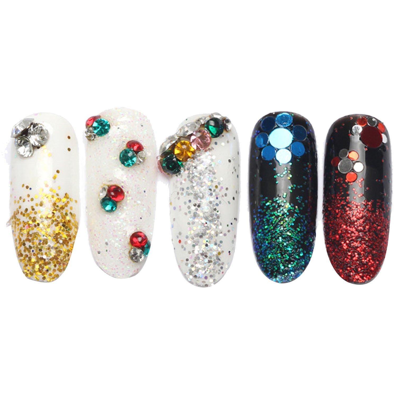 Vococal 100pcs Nail Shining Art Acryl Diamond / Nägel DIY ...