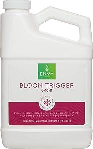 ENVY Bloom Trigger Professional Grade (0-10-11) Phosphate + Potassium Hydroponic Bloom Nutrient (Quart)