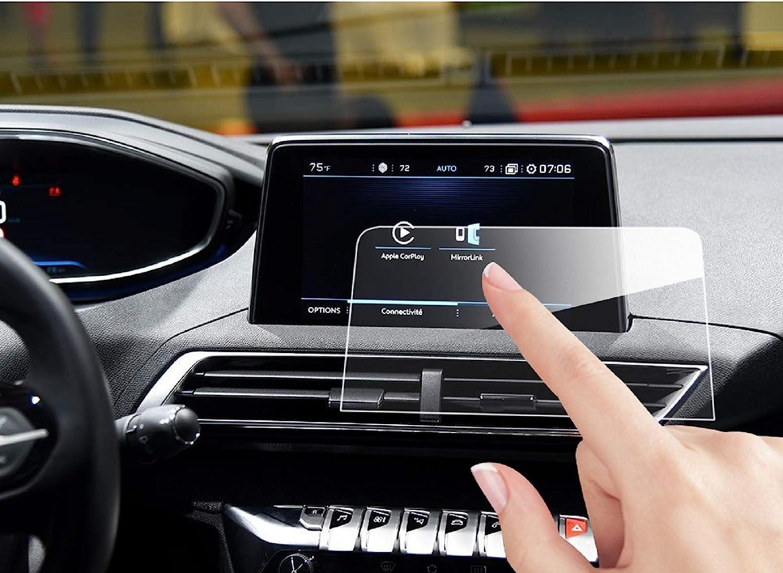 HIGH FLYING GPS Navigation Screen Anti-Fingerprint Tempered Film for Peugeot 3008 5008 2016-2018