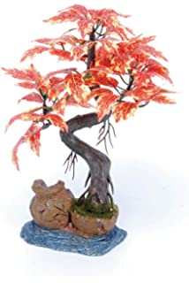 penn plax bonsai tree on urn bought bonsai tree