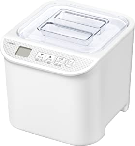 "YAMAZEN Yogurt Maker ""発酵美人 (Hakkou Bijin)"" YXA-100(W)【Japan Domestic genuine products】"