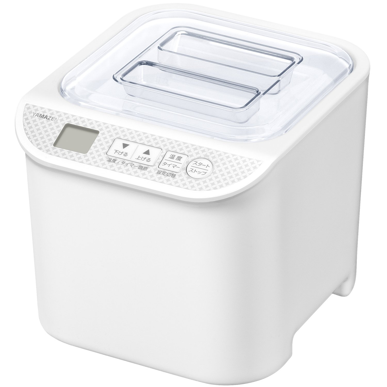 YAMAZEN Yogurt Maker ''発酵美人 (Hakkou Bijin)'' YXA-100(W)【Japan Domestic genuine products】 by YAMAZEN
