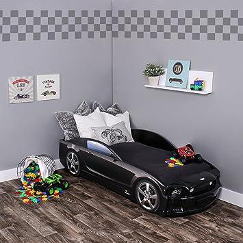 Kagu Autobett Kinderbett Jungendbett Juniorbett Im Design Eines Echten Autos Auch Mit Led Beleuchtung Erhältlich Praktisches Und Bequemes Bett Für