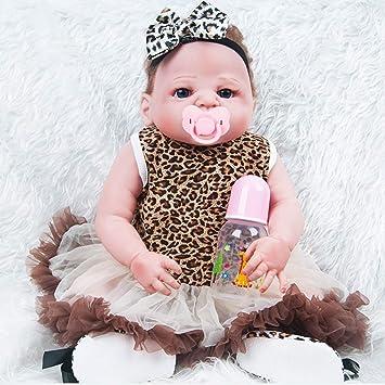 JZM Bebé Recién Nacido Muñeca Simulación De Vinilo De ...