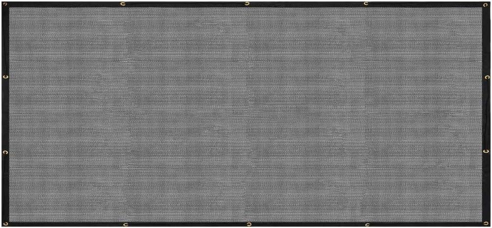 vidaXL Filet pour Remorque Filet de Couverture Filet de Protection dArrimage Filet de Cargaison Plateforme de Camionnette Galerie de Toit PEHD 2,5x4 m