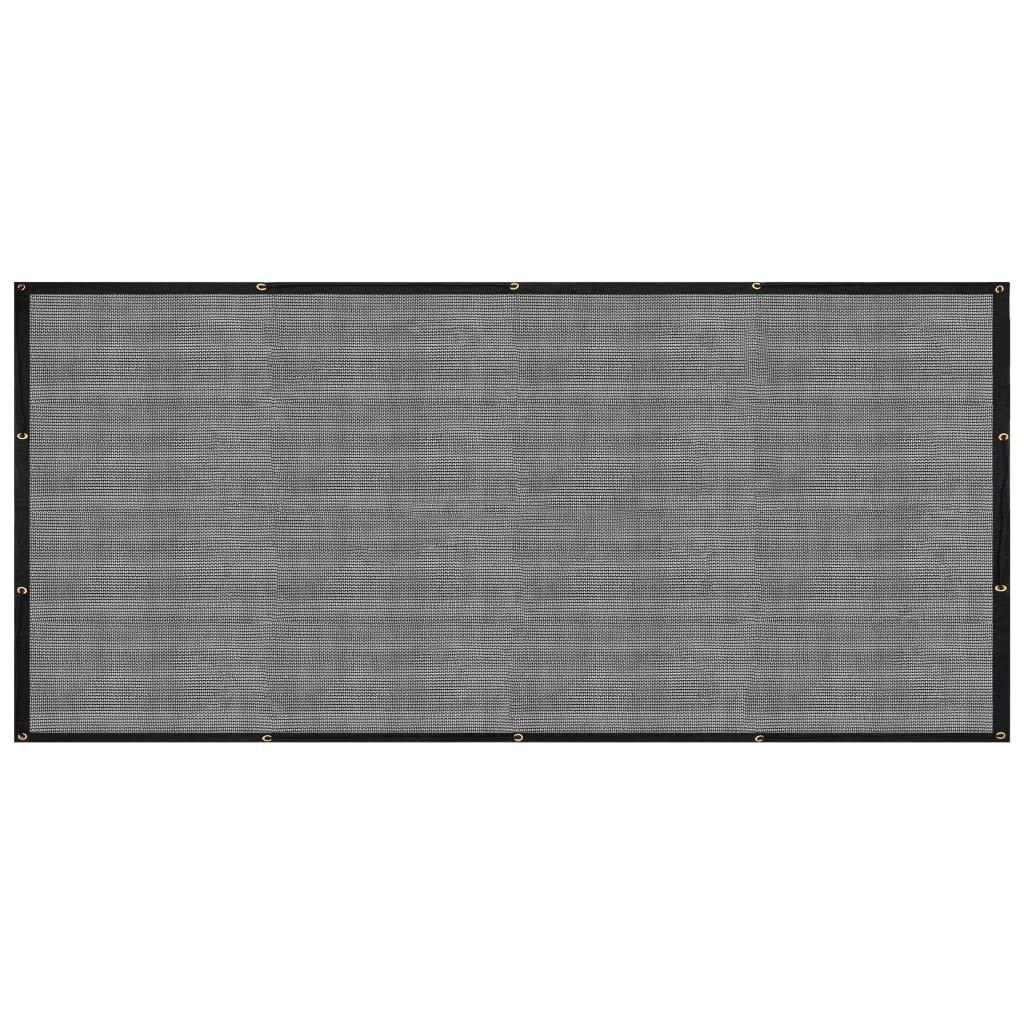 vidaXL Filet pour Remorque Filet de Couverture Filet de Protection dArrimage Filet de Cargaison Plateforme de Camionnette Galerie de Toit PEHD 2x3 m