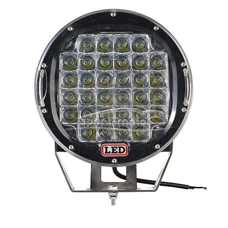 """Off road Pod luces 9 """"120 W 12000lumens soporte redondo impermeable parachoques Spot Luz"""