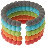 Chewbeads - Baby Silicone Links. Baby Safe 100% Silicone Rings for Attaching Teething Toys to Strollers, High Chairs and Car Seats. BPA-Free. Metal-Free. Phthalate-Free.