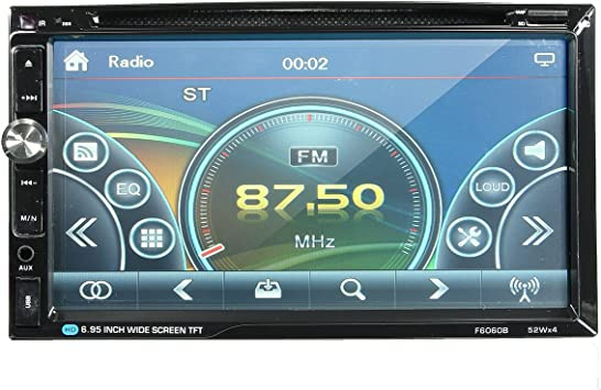 Viviance F6060b 7 Zoll Car Stereo Dvd Player Bluetooth Fm Radio Mp4 Aux Touch Screen 2 Din Hd 52w 4 Auto