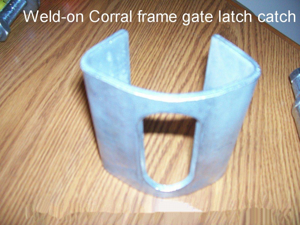 Corral Pen Gate Latch Striker Catch Weld on - Gate Hardware