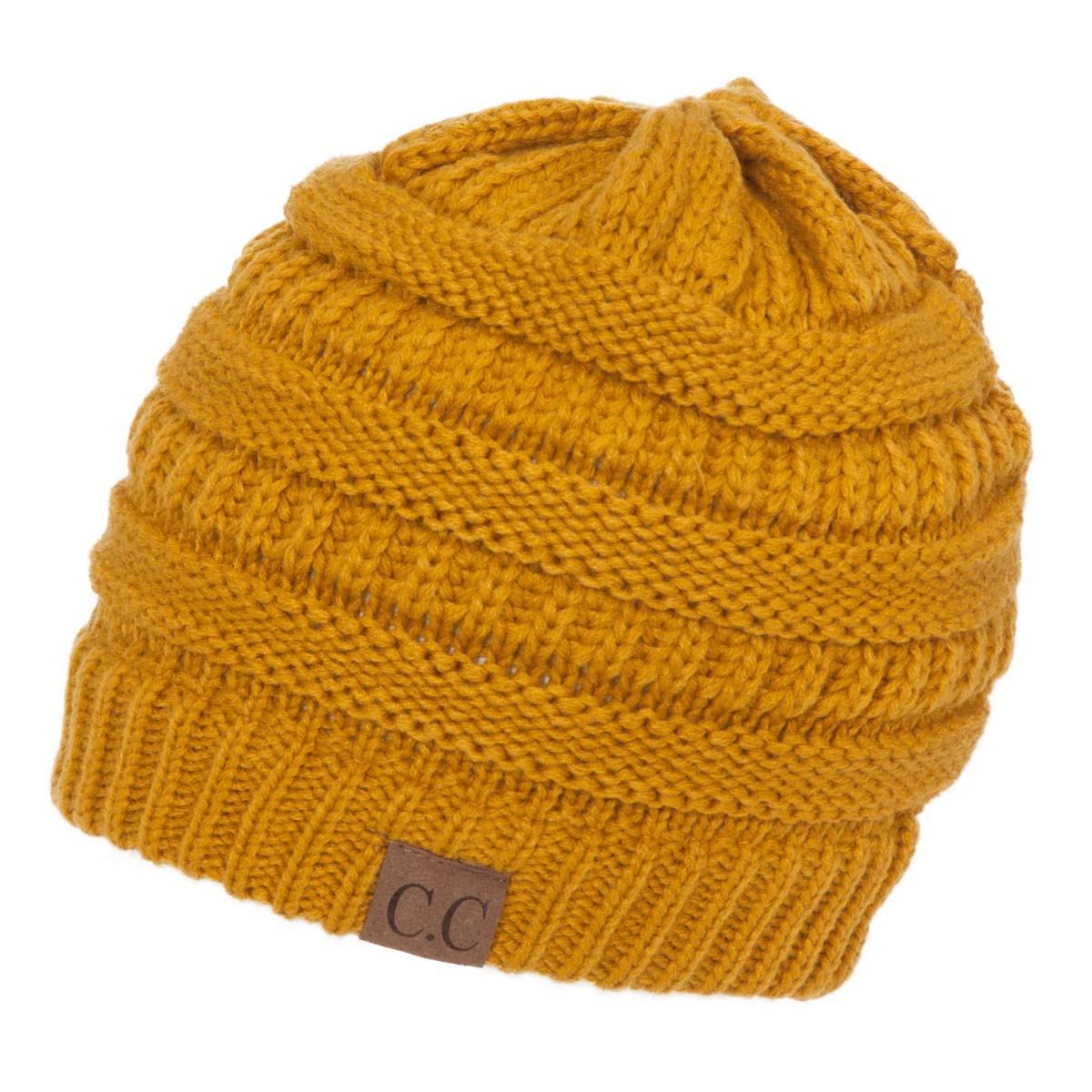 C.C Women s Thick Knit Beanie f2988c1db4e