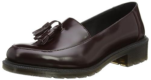 Dr. Martens Favilla Pol. Smooth - Zapatos slip on de cuero para mujer, color borgoña (oxblood), talla 41: Amazon.es: Zapatos y complementos