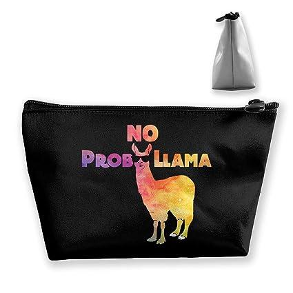 No Prob Llama Travel Toiletry Bag Estuches de maquillaje ...