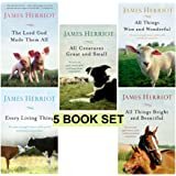 James Herriot's 5 Book Set: All Creatures Great and Small / All Things Bright and Beautiful / All Th