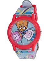 ADVENTURE TIME WRIST WATCH SAME ONE DEADPOOL WEARS IN THE MOVIE COSPLAY ANALOG