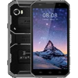 Kenxinda W9 6.0-Inch Dispaly 4G LTE Uncloaked Dual-Sim/8Mp and 5Mp/2GB/16GB/4000mAh/Android 5.1, Waterproof, Dustproof Smartphone -(Grey)