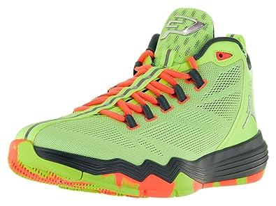 22c82eef6002 Nike Jordan Mens Jordan CP3.IX AE Ghst Grn Mtllc Slvr Hst