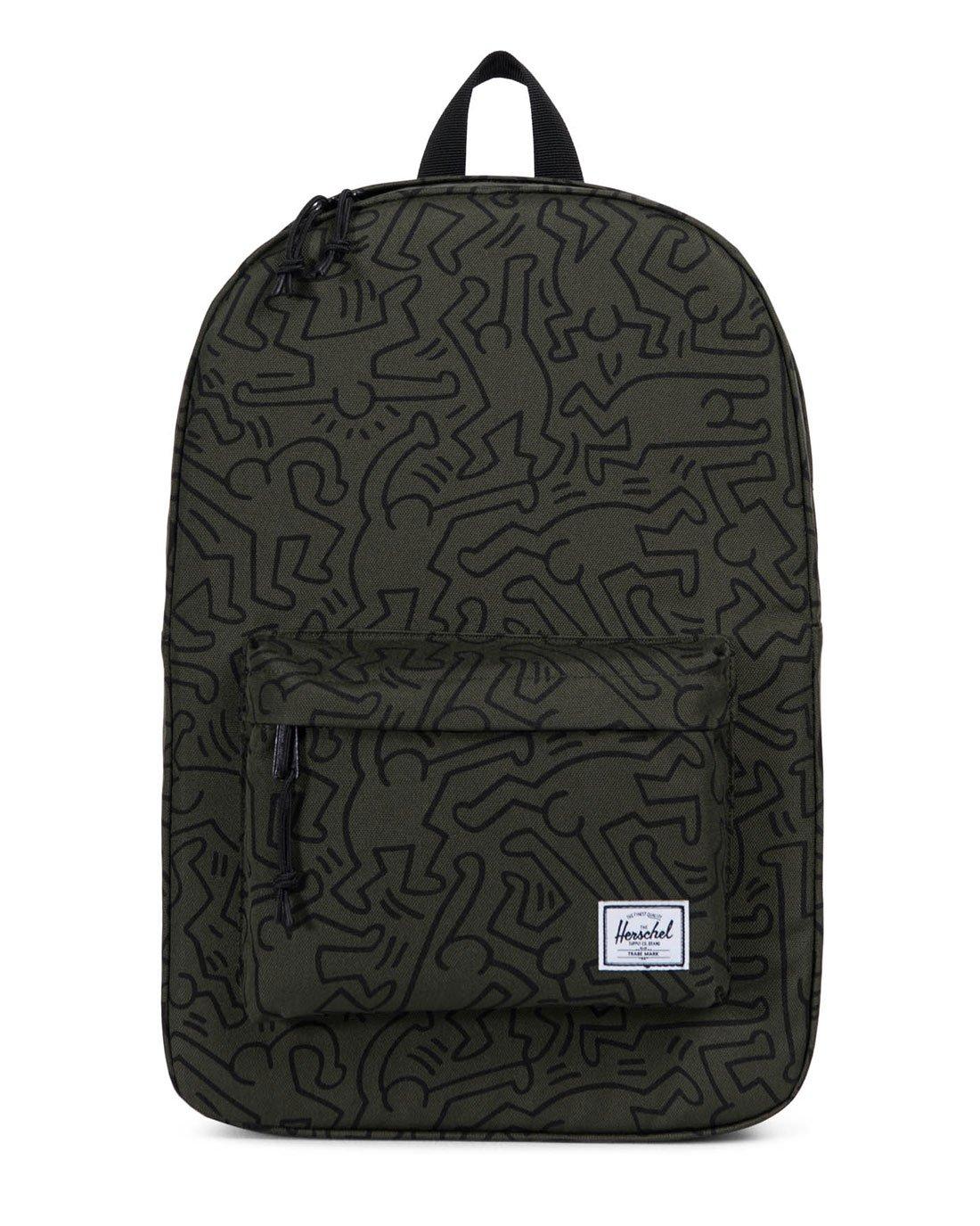 Herschel Winlaw Rugzak Keith Haring Forest Grün