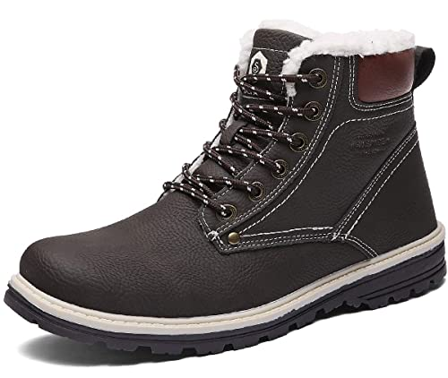 Am besten UBFEN Winter Schuhe Warm Gefütterte Winterschuhe