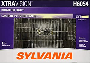 SYLVANIA - H6054 XtraVision Sealed Beam Headlight - Halogen Headlight Replacement 142x200 Delivers More Downroad Visibility (Contains 1 Bulb)