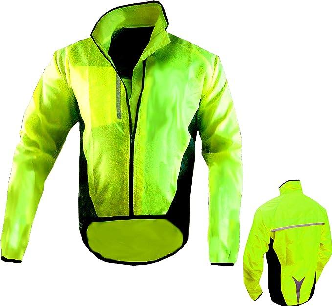 pour Plein-air Mountain Warehouse Veste Imperm/éable Cyclisme Adrenaline Homme Running et Marche Manteau Haute Visibilit/é Homme Manteau Pluie Respirant Unisexe