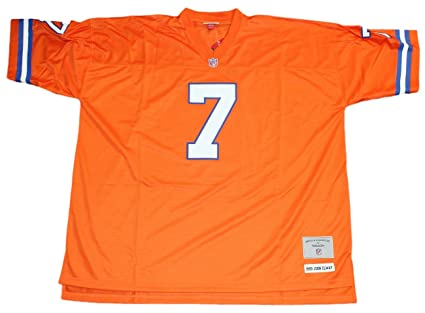 Amazon.com   John Elway Denver Broncos NFL Mitchell   Ness Throwback ... 06c7bbd5a
