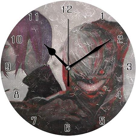 ingshihuainingxiancijies Tokyo Ghoul World Round - Reloj de Pared ...