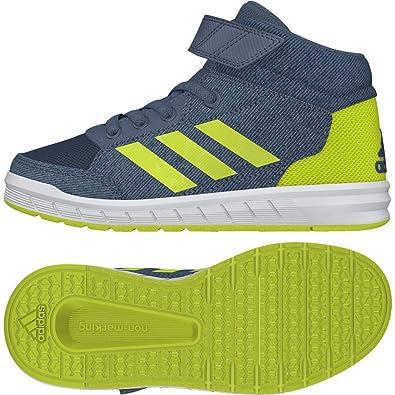 adidas Boys' AltaSport Mid EL K Fitness Shoes, Blau Rawste ...