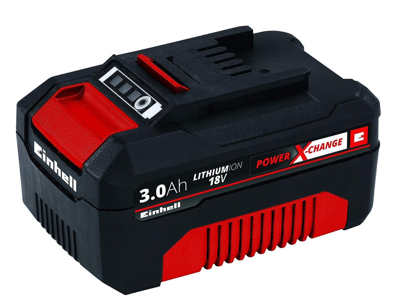 18 V Rojo Bater/ía Repuesto 18V 1,5Ah 30 min 1.5 Ah Einhell 4511340 Negro