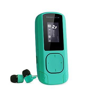 a99dd69bb Energy Sistem Energy MP3 Clip Mint - Reproductor MP3 portátil, 8 GB, Clip,