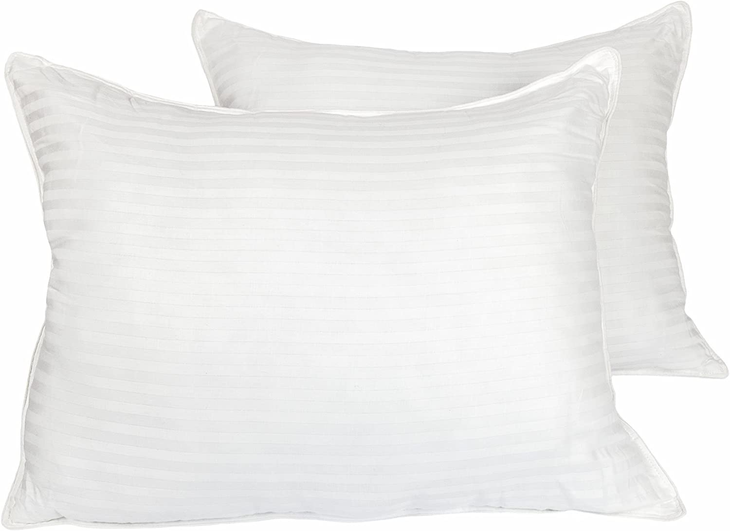 Cozy Bed Medium Firm Hotel Quality Pillow(set of 2), Standard, White, 2 Count